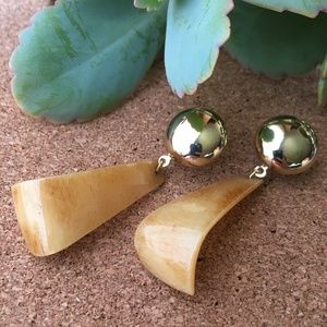 VTG Door Knocker Earthy Earring